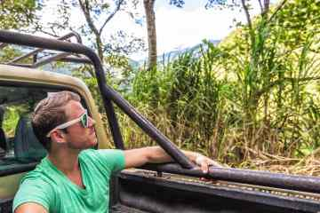 Riding dirty in Baños, Ecuador