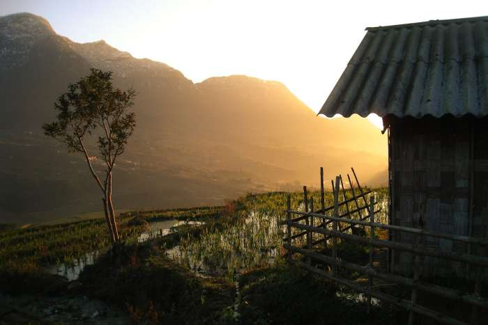 Sunrise in Sapa, Vietnam