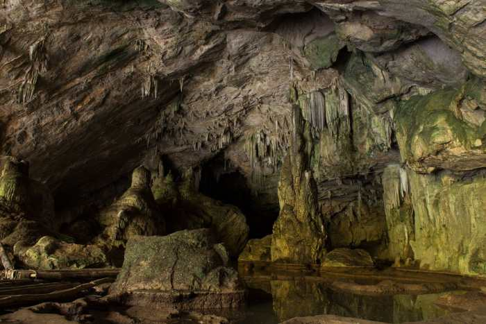 Inside Mammoth Cave National Park in Kentucky