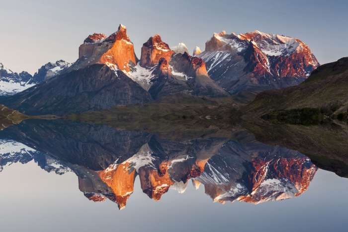 Reflections of Torres del Paine