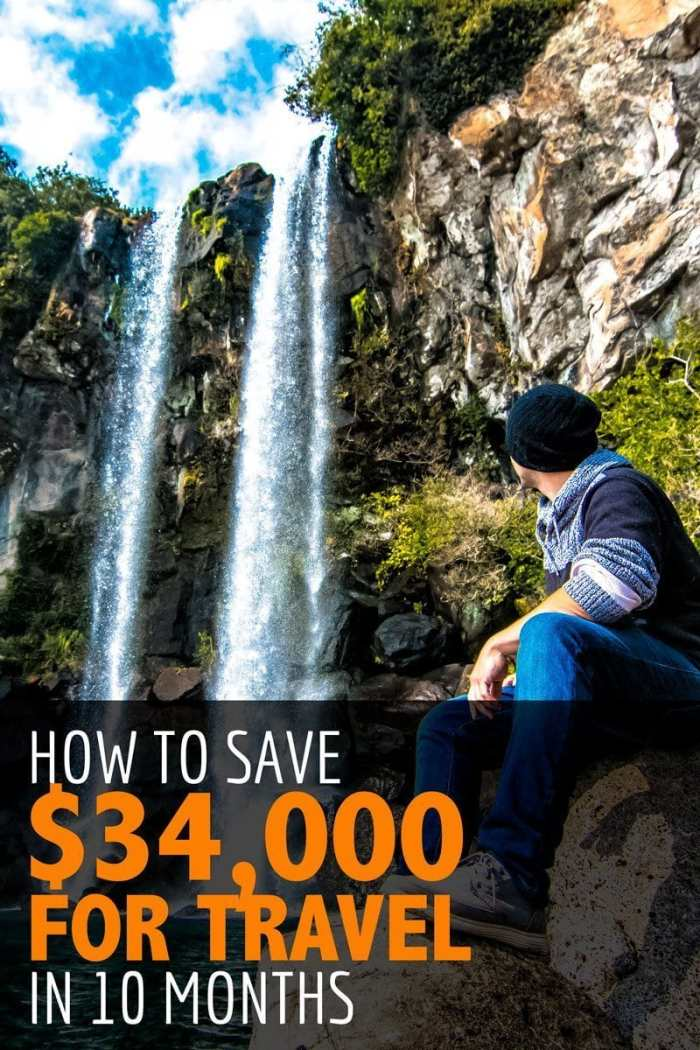 How to Save $34,000 for Travel in 10 Months