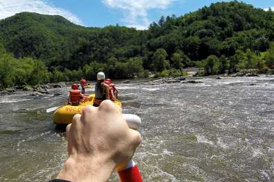 Whitewater Rafting on the French Broad River