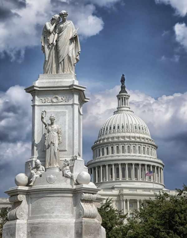 Washington, D.C.'s Peace Monument