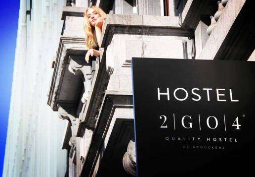 2GO4 best Hostel in Brussels