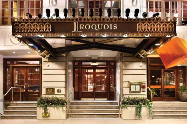 Stay at The Iroquois Hotel in NYC