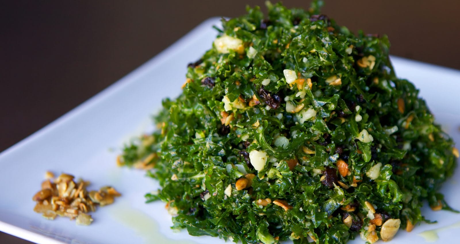 Kale salad from Posana, one of Asheville's best restaurants
