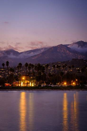 The mountains of Santa Barbara