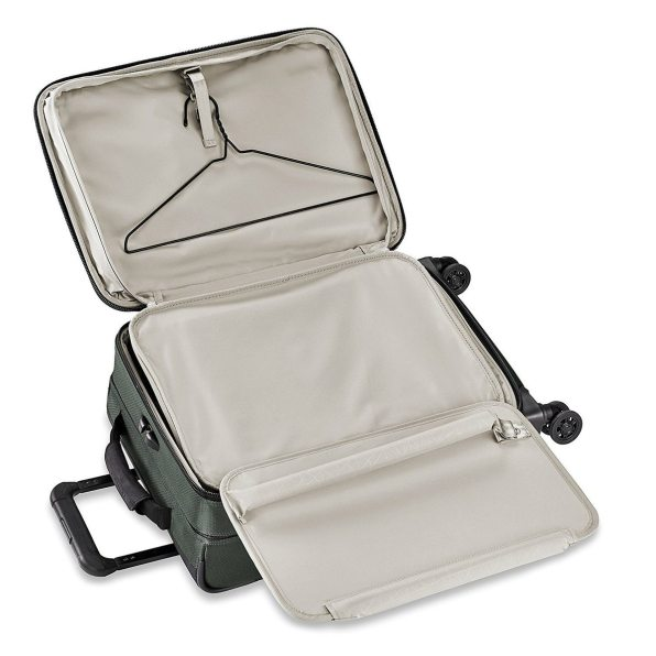The Briggs & Riley bag can accommodate even the over packer.