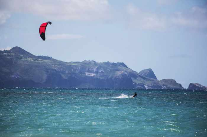 Maui Kite Surfer