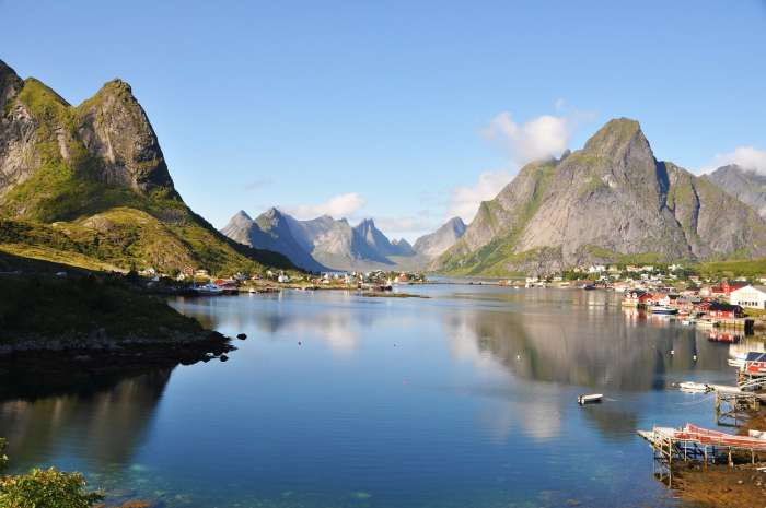 Lofoten Island of Norway