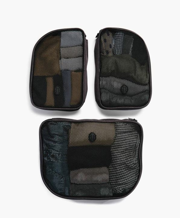 Packing cubes are a life saver for packing light.