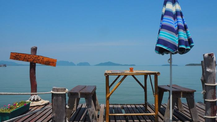 Koh Lanta beach view