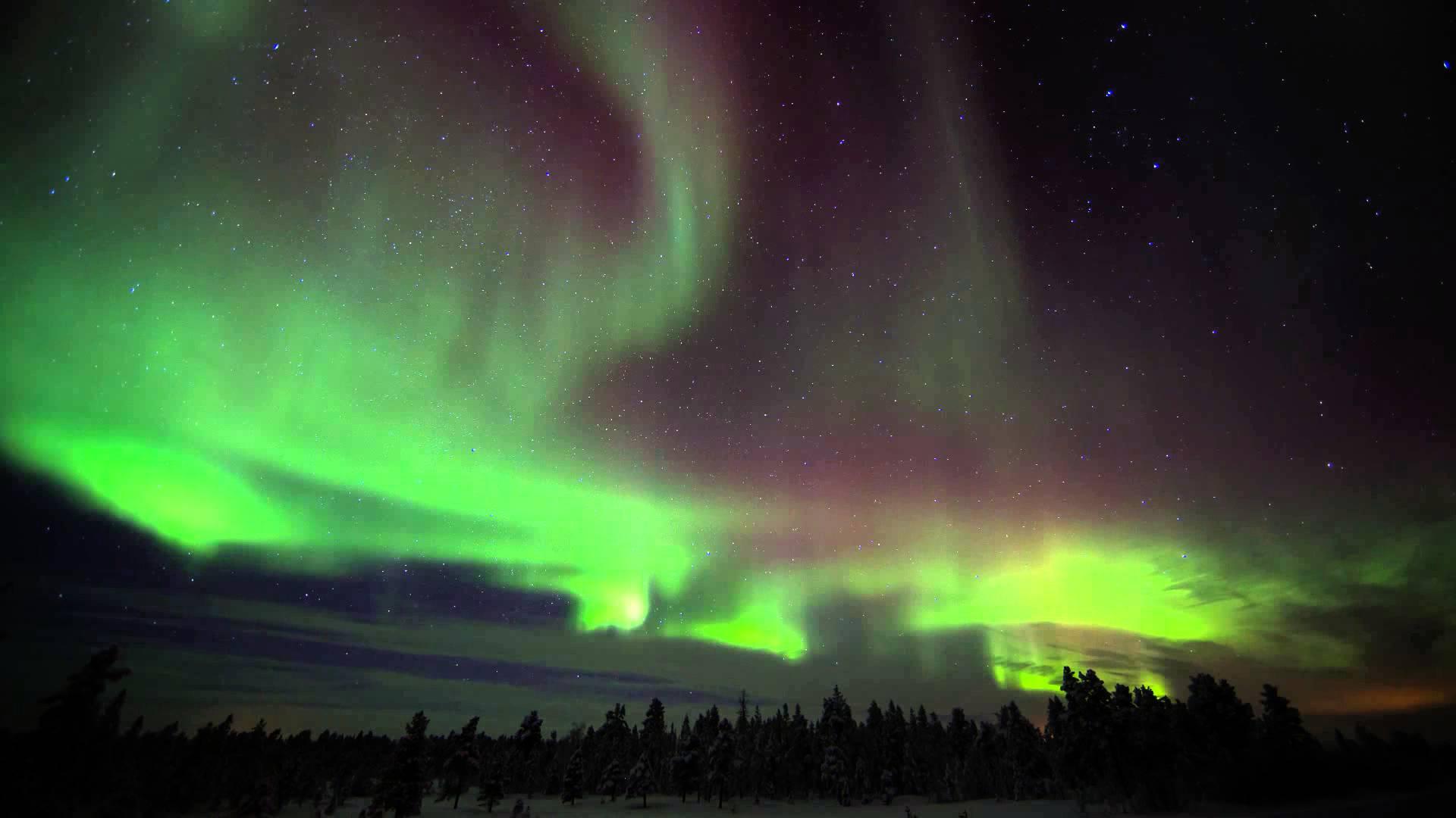 Inari Lights Northern Lake