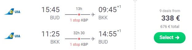 budapest bangkok