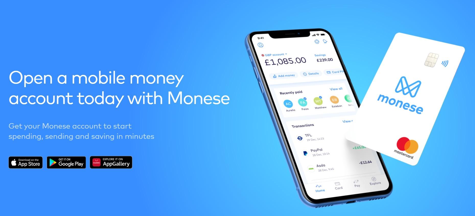 free monese card