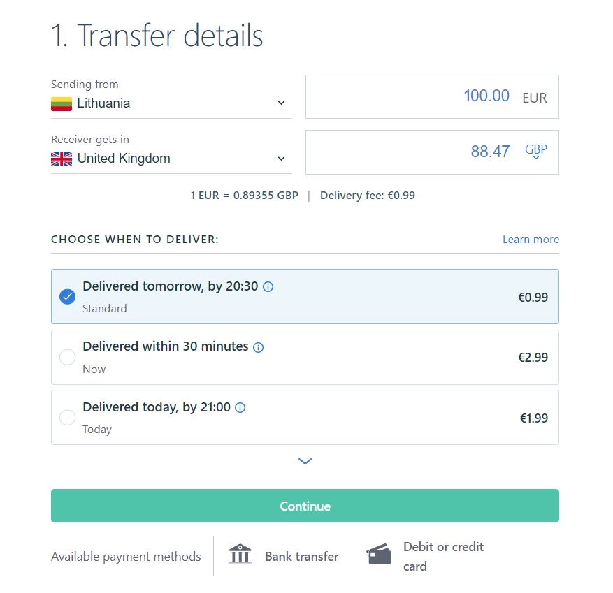 transfergo discount code 2021