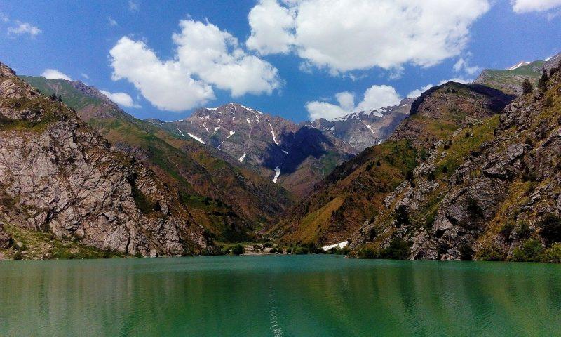 Greater Chimgan and Charvak lake