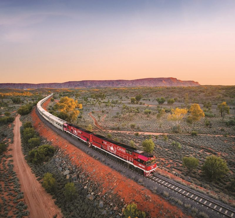 the ghan train australia