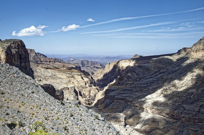 Trails of Jebel Shams, Oman