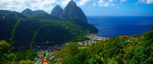 Saint-Lucia-island