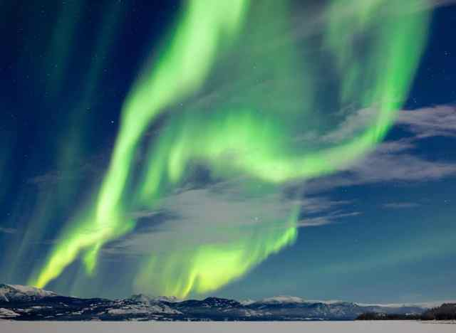 Northern Lights can be seen from Iceland's Bubble Hotel