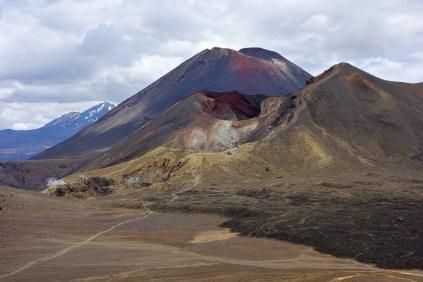 Red Crater, Tongariro Alpine Crossing, New Zealand