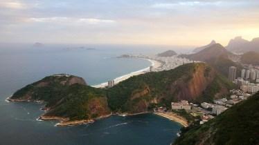 Capacabana Beach, Rio de Janeiro, Brazil