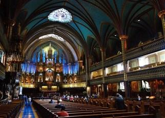Notre-Dame Basilica, Montreal, Quebec, Canada