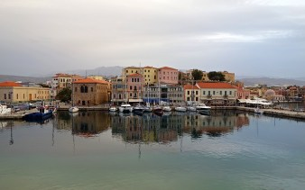 The Old Venetian Harbour, Chania, Crete, Greece