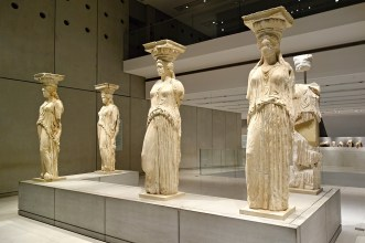 The Caryatids, The Acropolis Museum, Athens, Greece