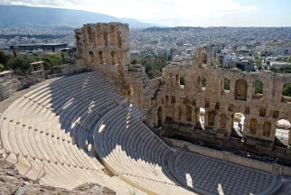 The Odeon of Herodes Atticus, The Acropolis, Athens, Greece