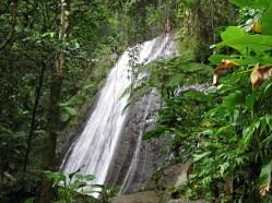 El Yunque waterfall, Puerto Rico