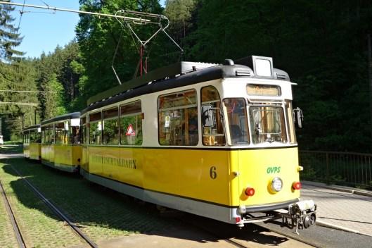 Kirnitzschtalbahn, Saxon Switzerland