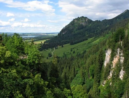 View from Neuschwanstein Castle, Bavaria
