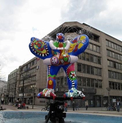 Lifesaver Fountain, Duisburg