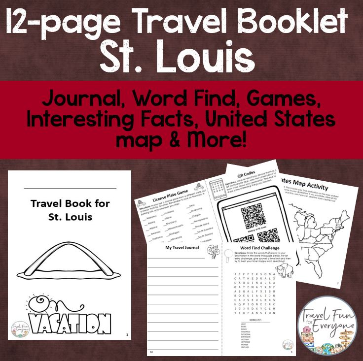st louis travel booklet travel fun for everyone