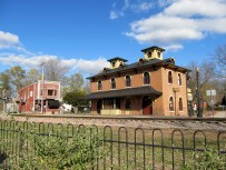Old Illinois Central Railroad Depot -- Visitor Information Center for Galena, Illinois