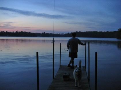 Happy ~ Evening Fishing