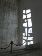 Patterned light at the USS Arizona Memorial
