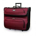 Rolling Garment Bag Red