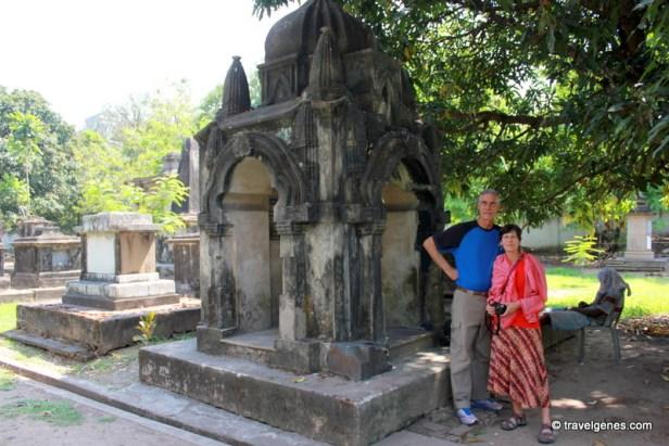 Park Street Cemetery Kolkata tour