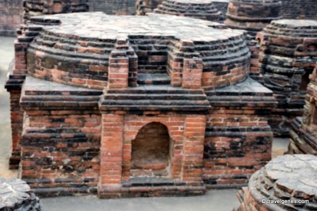 Temples Nalanda University