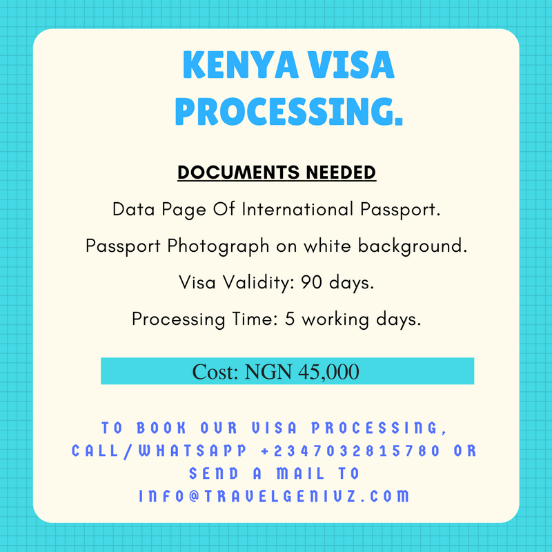 Kenya Visa: How To Apply In Nigeria