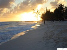 Sunset at Dover Beach, St. Lawrence Gap