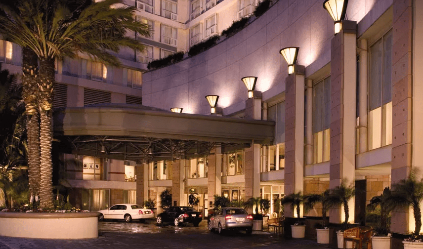 Omni Los Angeles Hotel At California Plaza For $125