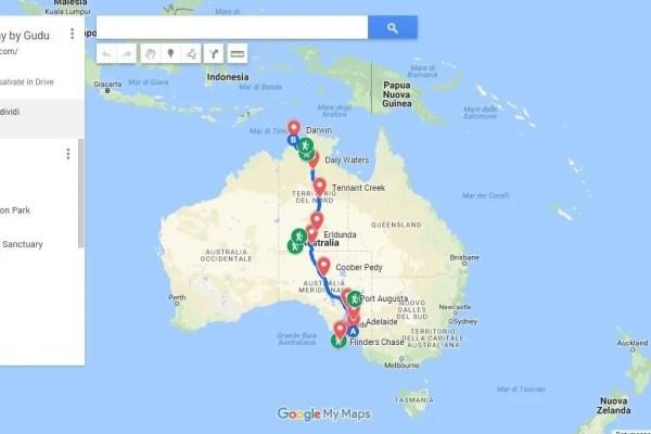 Work in Progress: Australia Explorers' Way by Gudu