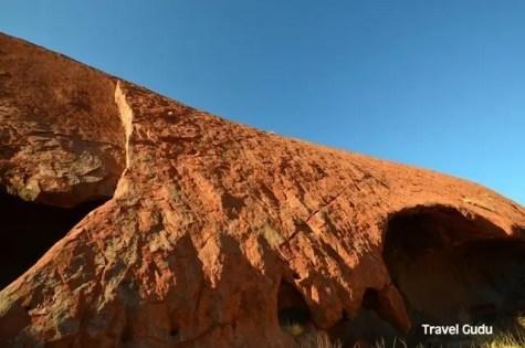 detail of Uluru
