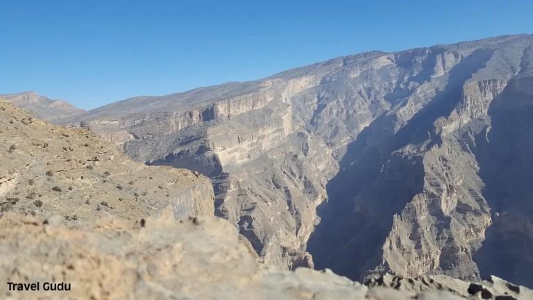 Oman: affacciarsi sul Grand Canyon d'Arabia