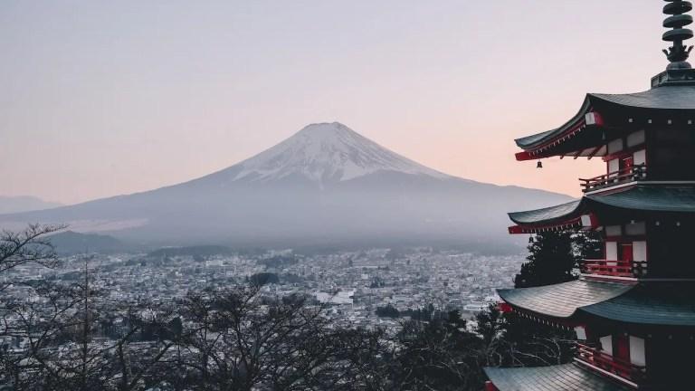 scalare il monte Fuji