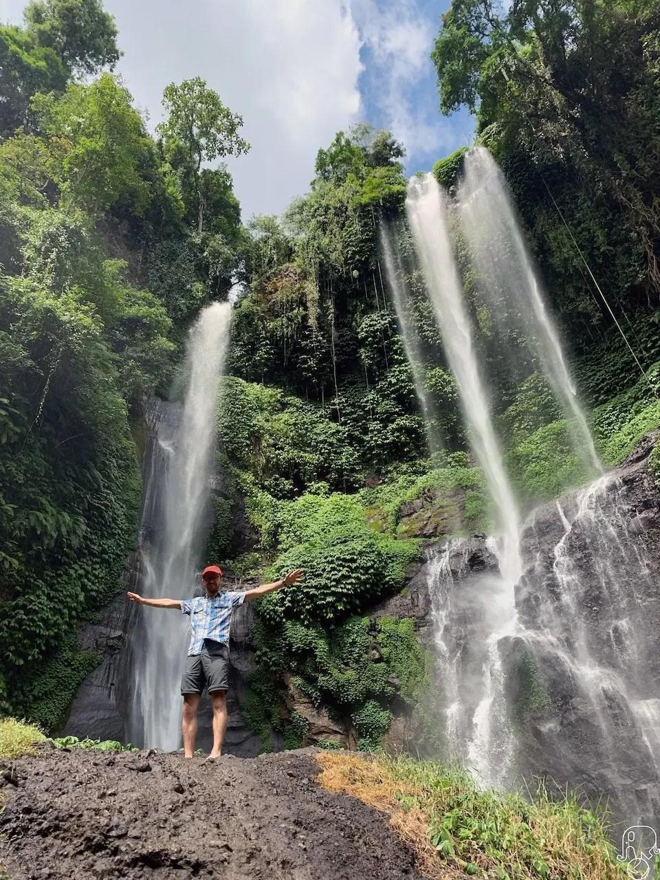 cascate Sekumpul Bali